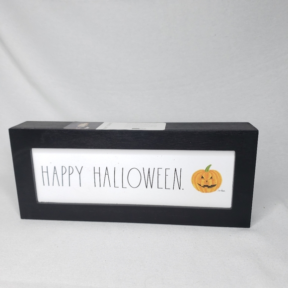 Rae Dunn Other - NEW Rae Dunn HAPPY HALLOWEEN Wooden Sign